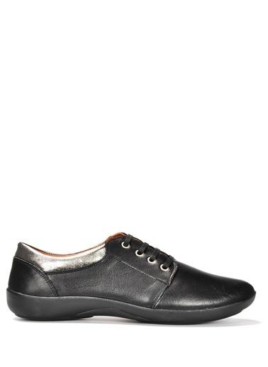 Vizon Ayakkabı Hakiki Deri Ayakkabı Siyah